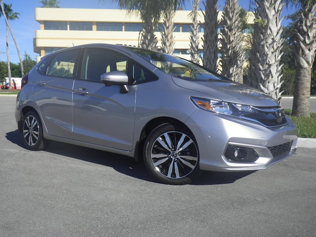 Certified Pre-Owned 2018 Honda Fit EX-L